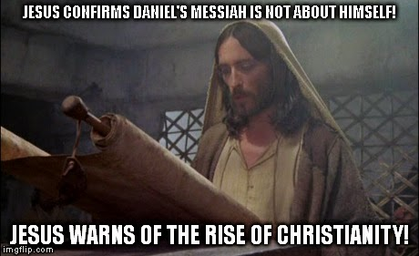 Jesus confirms daniel