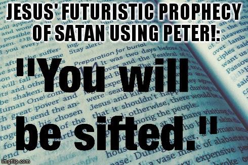 peter used by satan