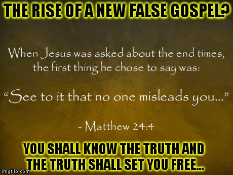 RISE OF A NEW GOSPEL
