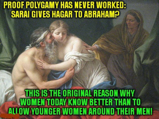 ABRAHAM POLYGAMY